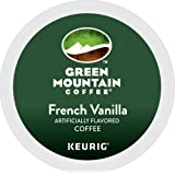 Green Mountain Coffee French Vanilla Keurig Single-Serve K-Cup Pods, Light Roast Coffee, 24 Count, 7.9 oz