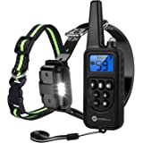 Slopehill Dog Training Collar, Dog Shock Collar with 2600Ft Remote, Waterproof Rechargeable Dog Collar with Vibration, Beep Shock Modes, Adjustable 0 to 99 Shock Levels Dog Training Set