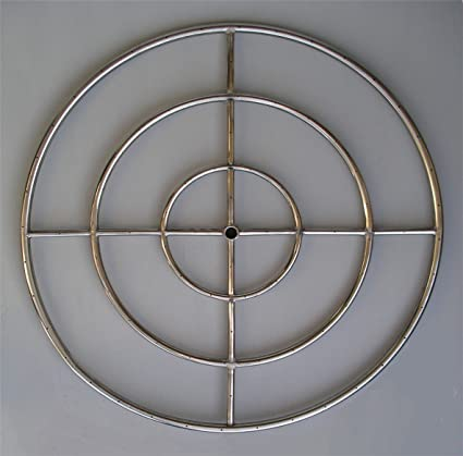 Amazon.com: Fire Pit Ring Burner for NG, Triple Ring 36