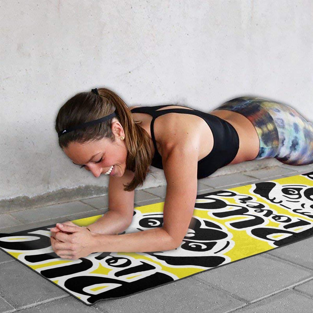 Amazon.com: Alfombrilla de entrenamiento para yoga, yoga ...