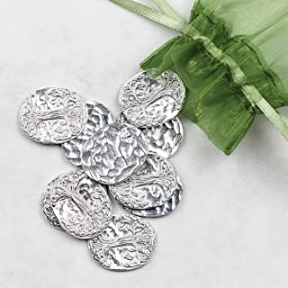 product image for DANFORTH - Vilmain Tree of Life Pocket Tokens - Bag of 10 Pocket Coins - Pewter - Made in USA