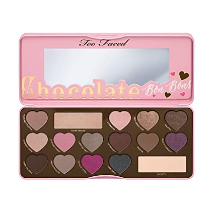 Too Faced- Estuche de regalo paleta de sombras chocolate bon ...