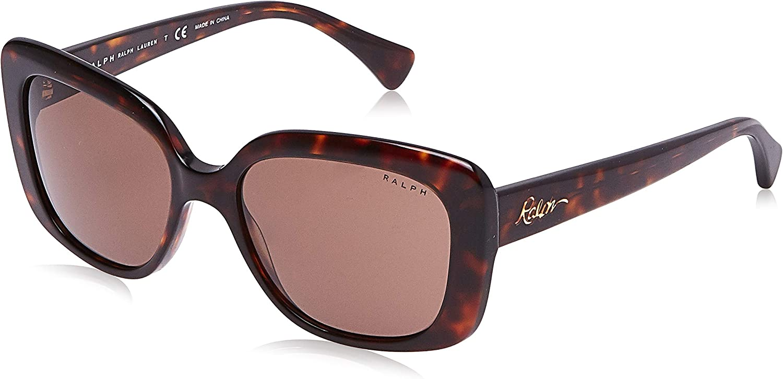 Ralph by Ralph Lauren Ra5241 - Gafas de sol rectangulares para mujer