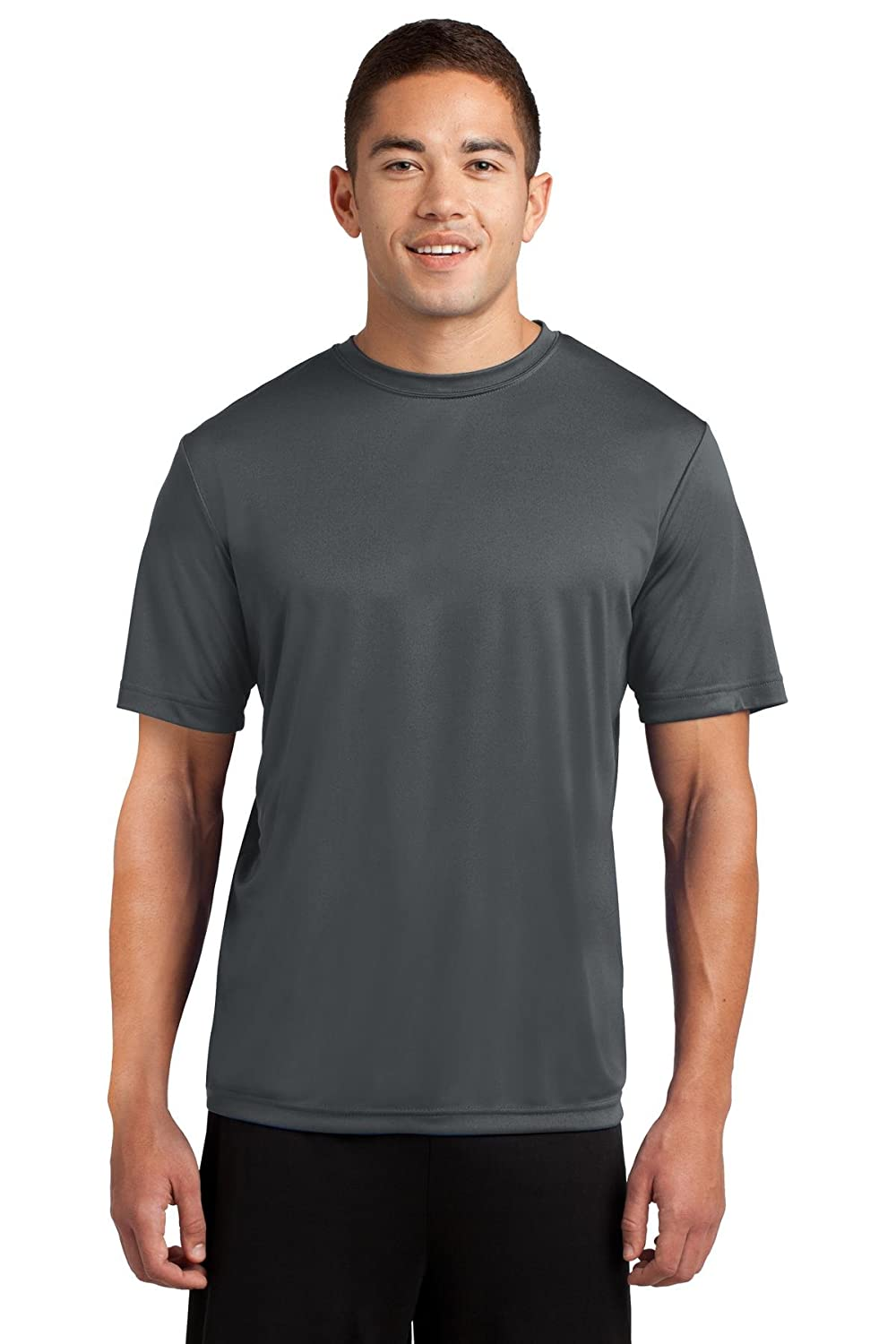 Dri-Tek Men's Big & Tall Short Sleeve Moisture Wicking Athletic T-Shirt CCDT1