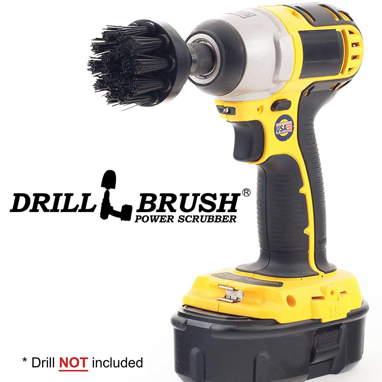 BBQ Accessories - Grill Brush - Ultra Stiff Bristle - Scrub Brush - Gas Grill -