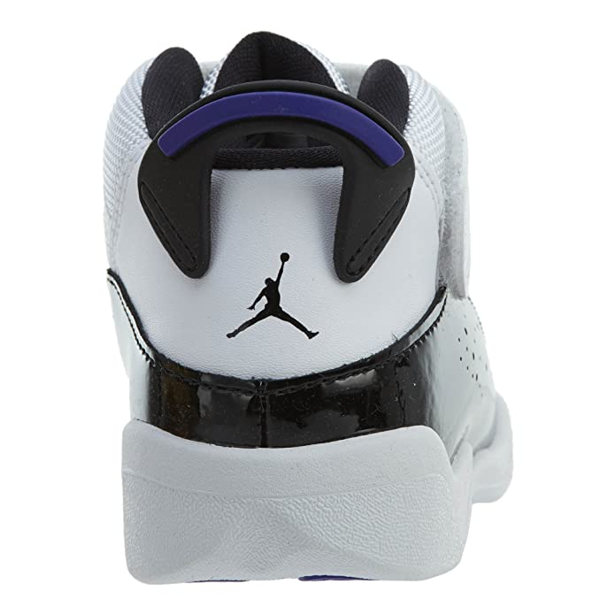 c00f27ea0a3 Amazon.com | NIKE Toddler Jordan 6 Rings Basketball Shoes White/Black-Dark  Concord 4C | Sneakers