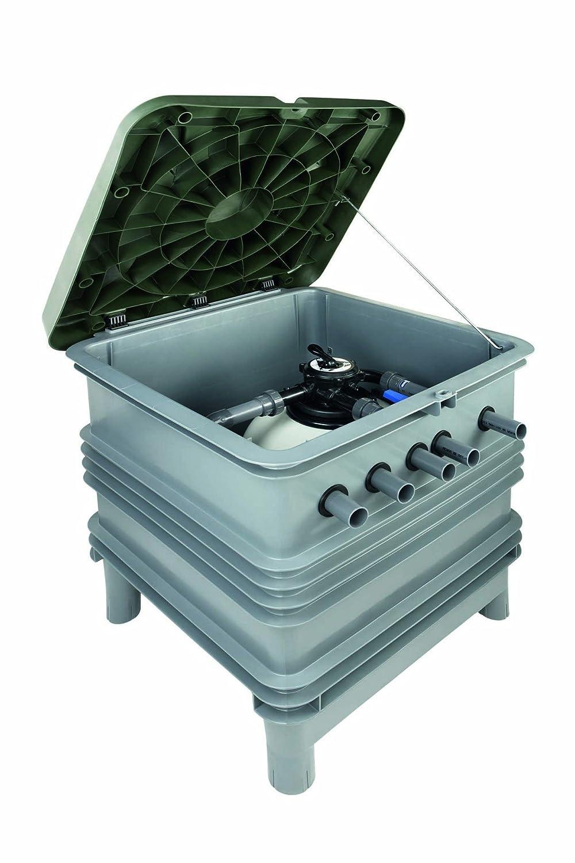 Astralpool - Compacto Enterrado Ramsés Eco Aster 550 + Sena 1 Cv + Hydrospin Compact: Amazon.es: Bricolaje y herramientas