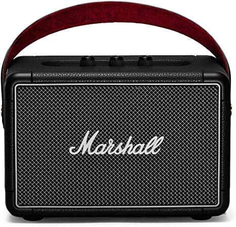 New Marshall Stockwell Portable Bluetooth Speaker w// Flip Cover Stereo 3.5mm USB