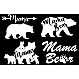 """Oracal Vinyl Decal Car Details about  /5.5/"""" Papa Bear Decal with up to 6 FREE 2.5/"""" Cubs"""