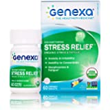 Genexa Stress Relief - 60 Tablets | Certified Organic & Non-GMO, Physician Formulated, Homeopathic | Sleep Aid (Stress Relief, 1 Pack)