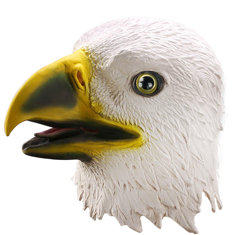 お気に入り ylovetoysラテックス動物ヘッドマスクハロウィンコスチュームパーティー装飾マスク B07MYZ3V48 ワシ ワシ B07MYZ3V48, アッサブチョウ:39e70d22 --- a0267596.xsph.ru