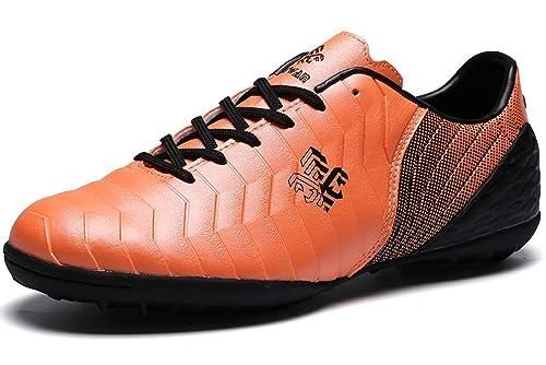 Botas de Fútbol Niño FG/TF Zapatillas Futbol Sala Niña Ligero Zapatos de Deporte Unisex Zapatos de Entrenamiento: Amazon.es: Zapatos y complementos