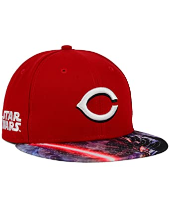 the latest 53001 a15be canada new era cincinnati reds mlb x star wars viza print 59fifty cap 7 1 8