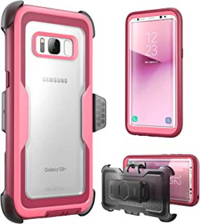 i-Blason Galaxy S8+ Plus Case, [Armorbox] [Full Body] [Heavy Duty Protection ] Shock Reduction/Bumper Case Without Screen Protector Samsung Galaxy S8+ Plus 2017 Release (Black)