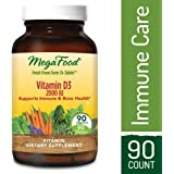 MegaFood - Vitamin D-3 2000 IU, Promotes Healthy Immune Function & Overall Well-being, 90 Tablets (FFP)