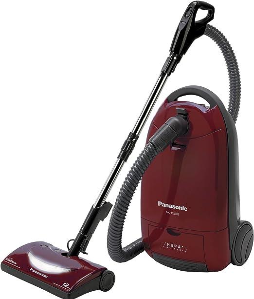 Panasonic MC-CG902 aspirador - Aspiradora (Cilindro, Rojo, Secar ...