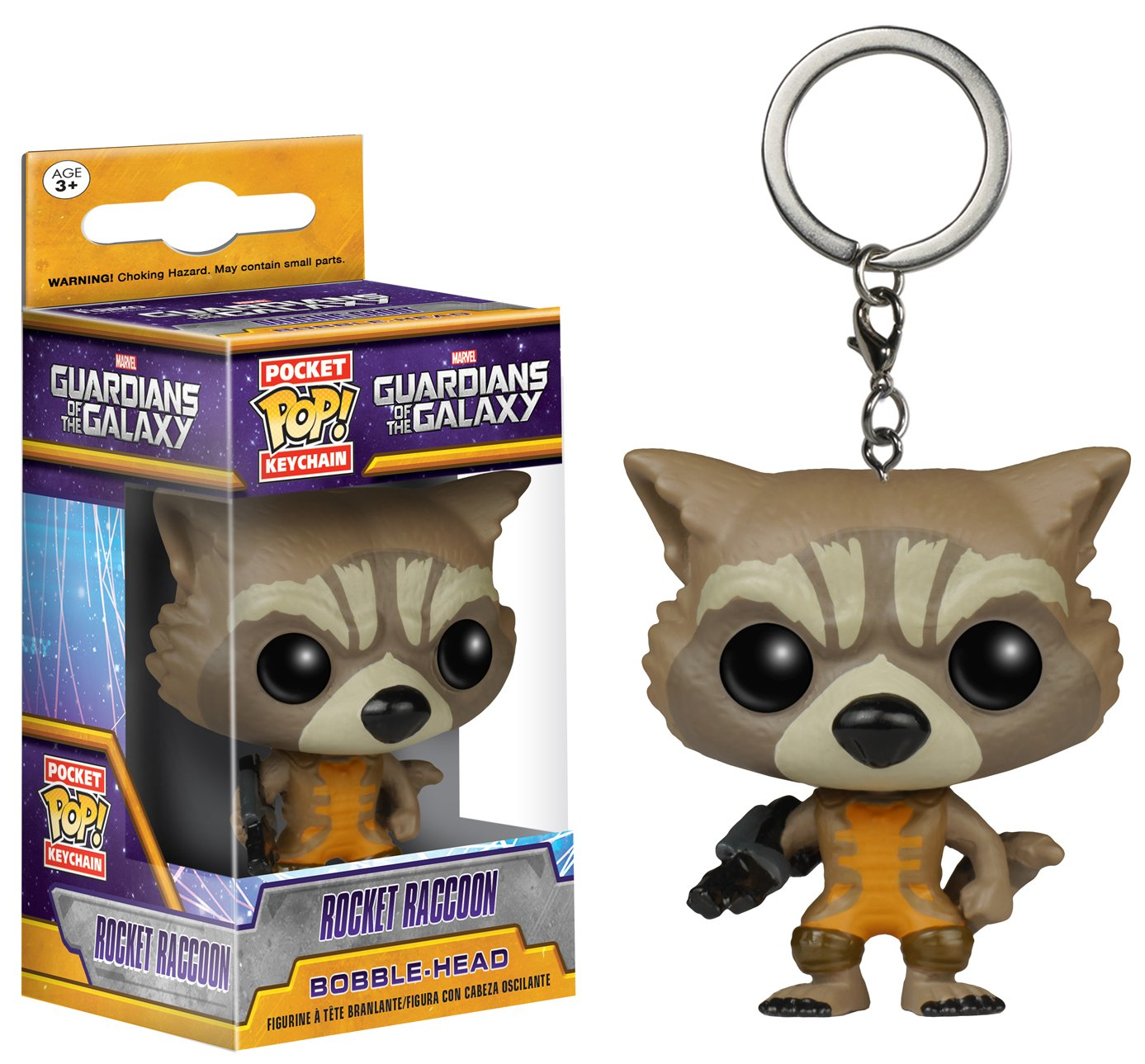 Funko Pocket POP Keychain: GOTG - Rocket Keychain