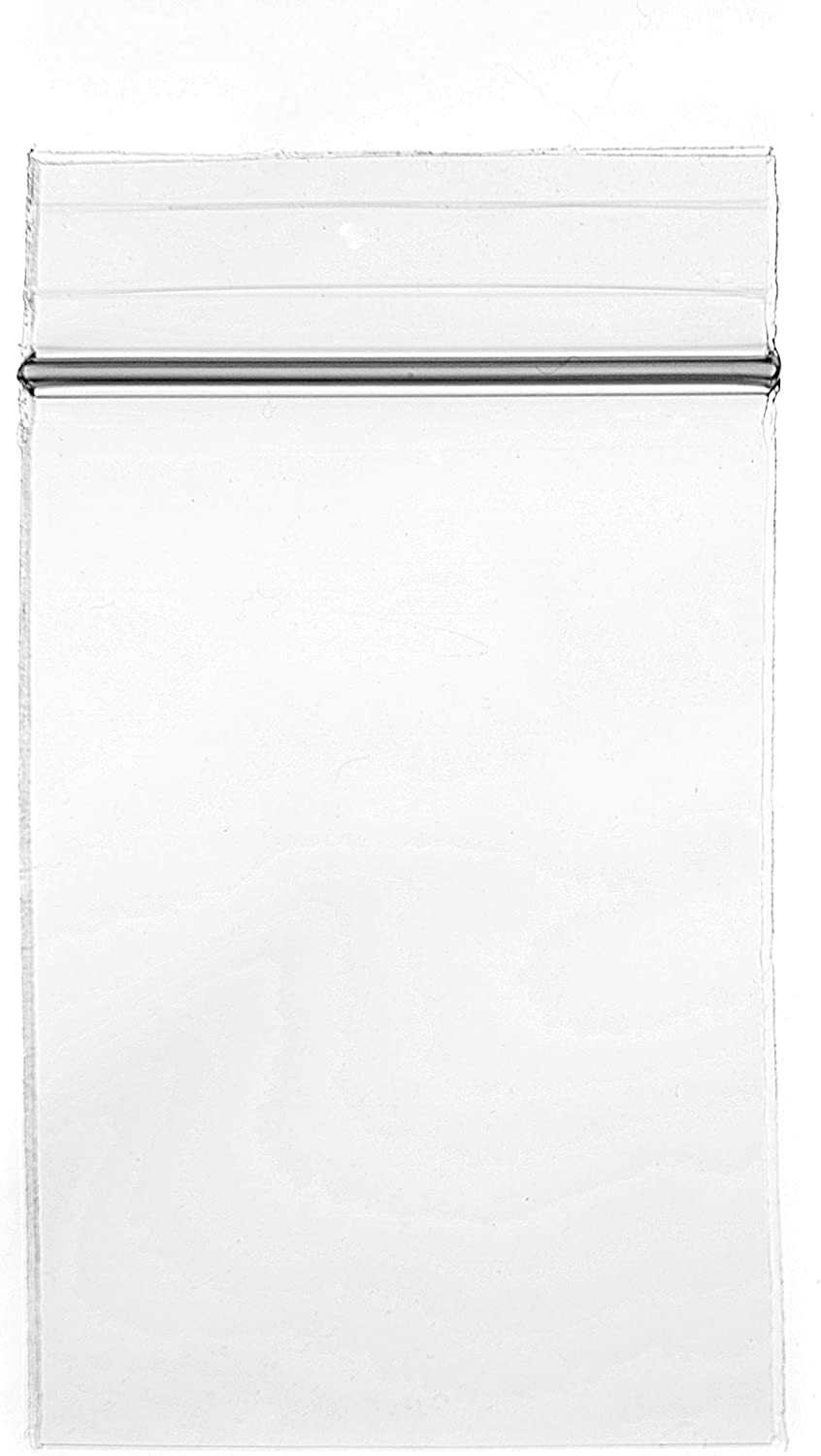 """Clear Reclosable Zip Lock Bag 1.5/"""" x 1.5/"""" Polyethylene 2 Mil Pack of 1000 Pieces"""