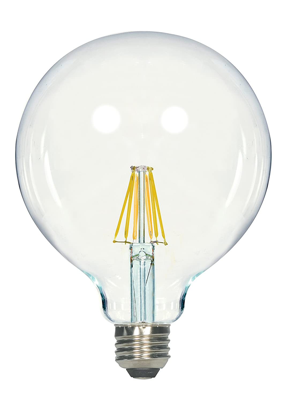 Satco製品s9251 4.5 W a19クリアLED Mediumベース電球、450 LM 810 Lumens S9252 1B00TRCR1WM810 Lumens|Household A19-shapeHousehold A19-shape810 Lumens