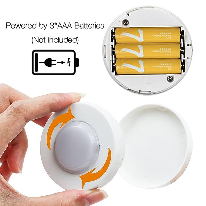 Armario Leuchten Luz nocturna LED con mando a distancia ...