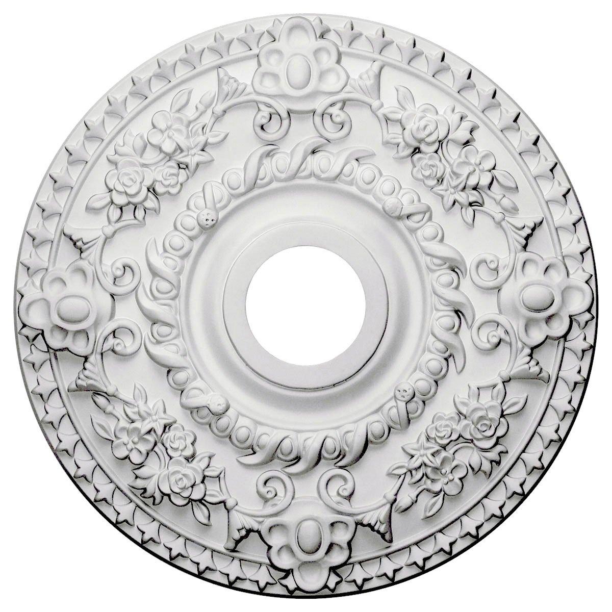 Ekena Millwork CM18RO Ceiling Medallion Primed
