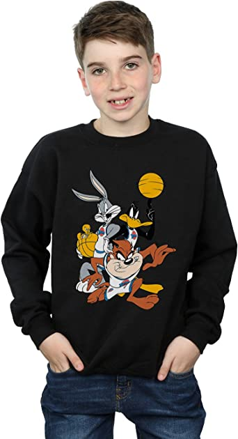 Absolute Cult Space Jam Mens Bugs and Daffy Sweatshirt