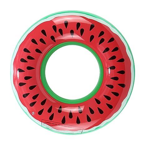 gadgetcking XL Inflable Gigante Anillo de Natación Piscina Playa Vacaciones Novedad Flotador de Donut