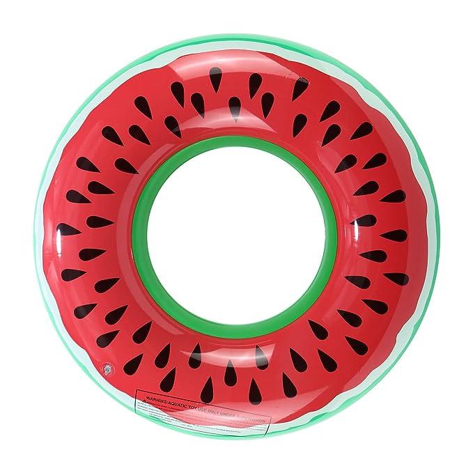 Gadgetcking - Bouée gonflable de taille XL en forme de donut au ...