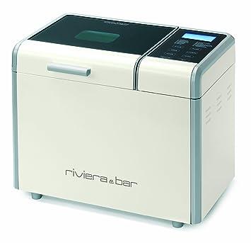 Riviera & Bar QD782A - Panificadora automática (600 W, 3 tamaños de pan)