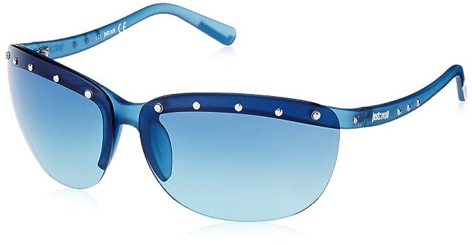 Just Cavalli - Gafas de sol Pantalla JC591S, Dark Blue ...