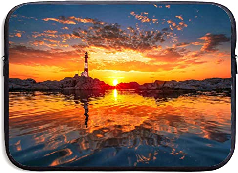 Laptop Sleeve Case 2 Beach Sunset Wave Protective Bag for 15 Inch Surface Laptop//Notebook//Acer//Asus//Dell//Lenovo//iPad//Surface Book