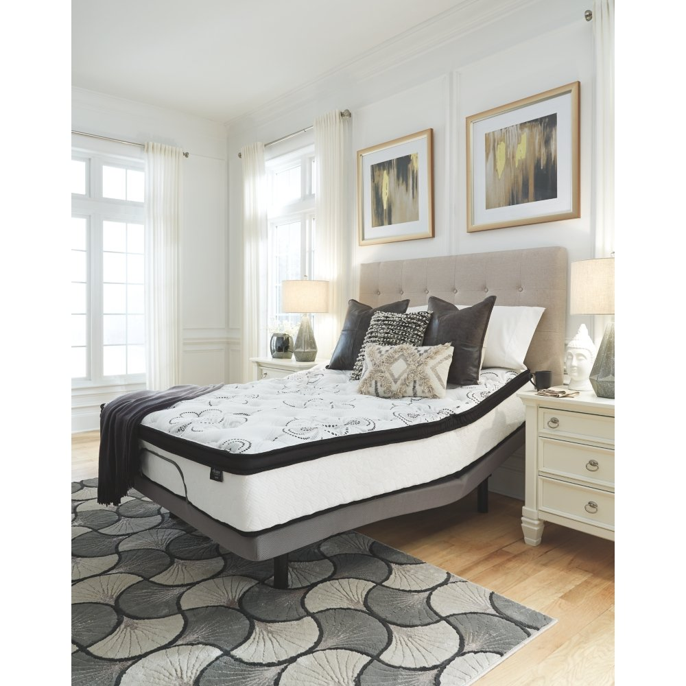 Ashley Furniture Signature Design - 12 Inch Chime Express Hybrid Innerspring - Firm Mattress - Bed in a Box - Queen - White by Signature Design by Ashley (Image #7)