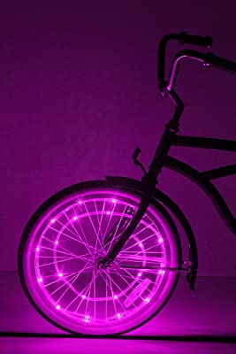 Enable simple and visible wheel lighting on many of your bikes