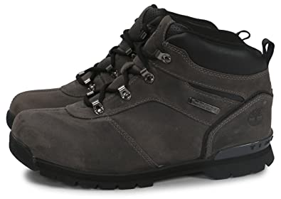 d91b94531eea Timberland Junior Boys Splitrock Boots in Grey  Amazon.co.uk  Shoes ...