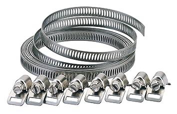 promotion spéciale coupon de réduction à bas prix Draper 55591 Lot de colliers de serrage pour tuyau 8 mm (Import Grande  Bretagne)