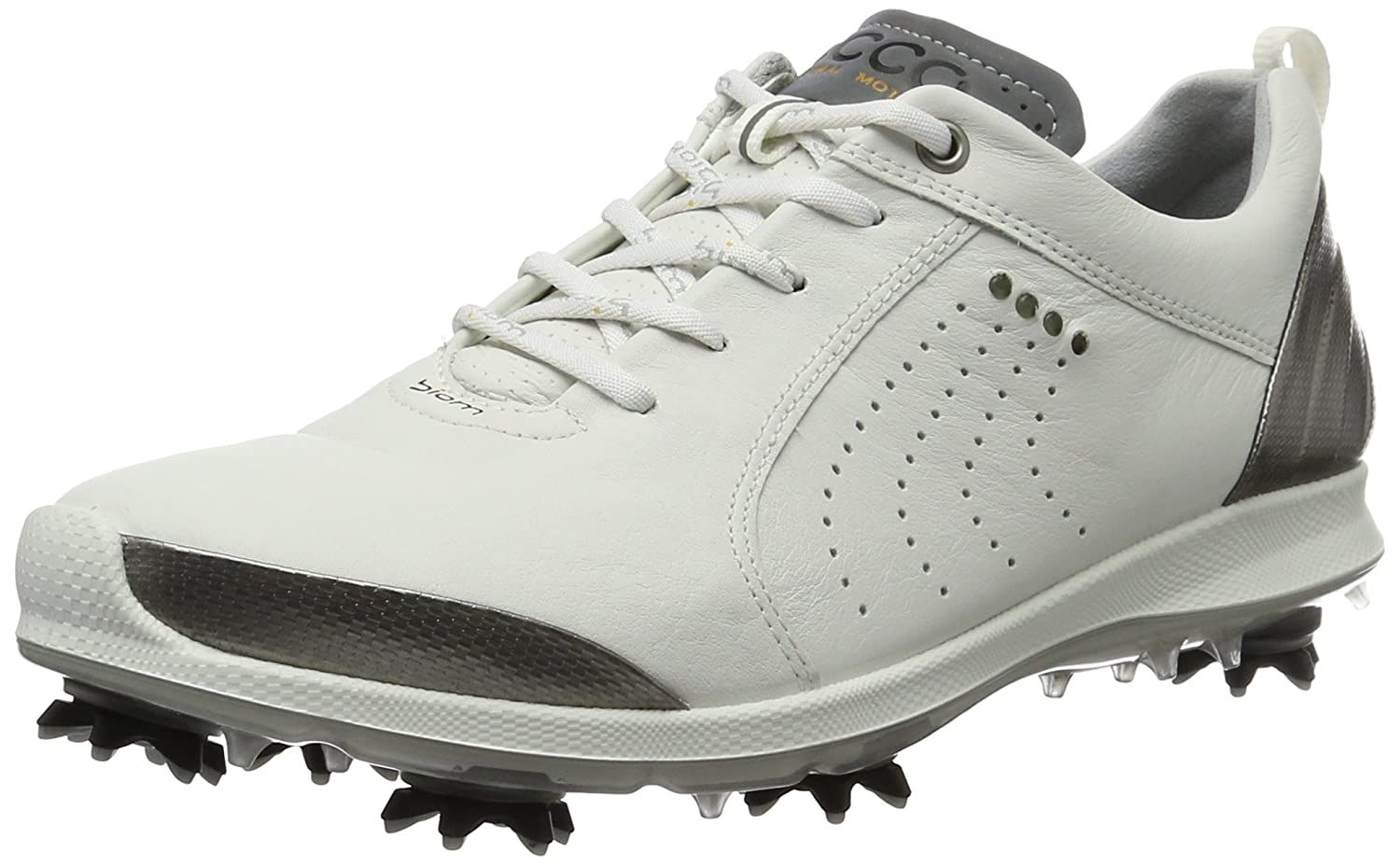 ECCO Golf Womens Biom G 2 Free B01KIKI3LE 36 EU/5-5.5 M US|White/Buffed Silver
