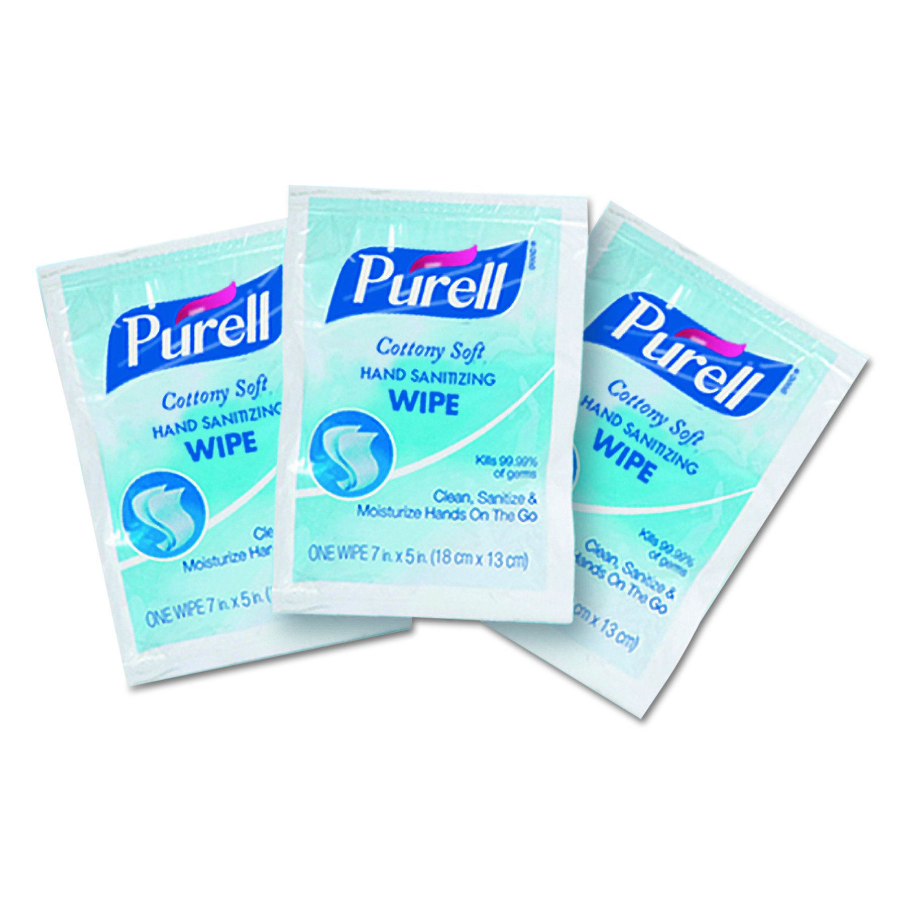 Purell 9026-1M Cottony Soft Sanitizing Wipes (1,000 per Case) by Purell