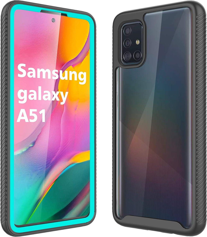 New Wish Hülle Für Samsung Galaxy A51 Klare 360 Grad Elektronik