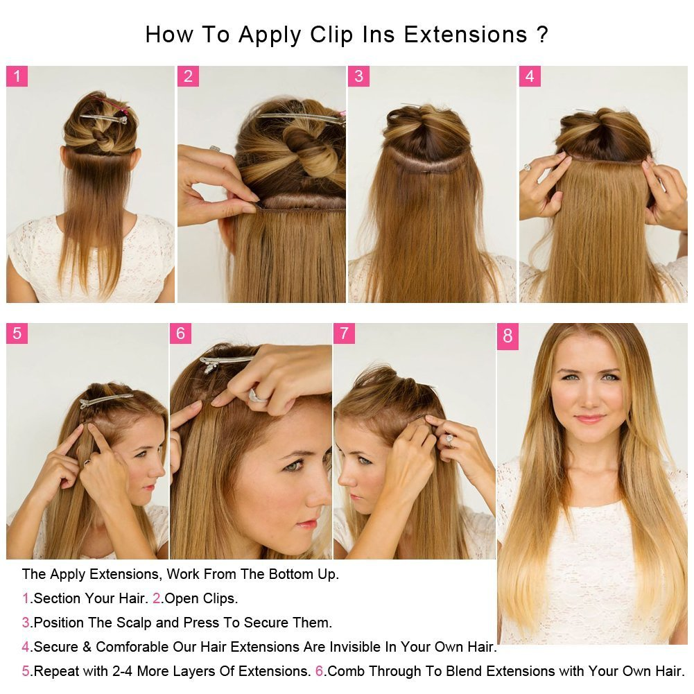 Amazon Clip In Human Hair Extensions Brazilian Jerry Curly