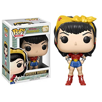 POP! Vinilo - DC: DC Bombshells Wonder Woman, modelos surtidos, 1 unidad: Juguetes y juegos
