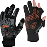 KastKing Mountain Mist Fishing Gloves – Cold Winter Weather Fishing Gloves – Fishing Gloves for Men and Women – Ideal as…