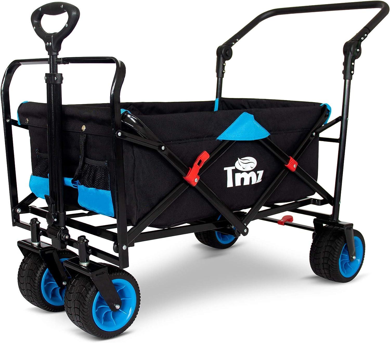 TMZ All Terrain Wide Wheel Utility Folding Wagon