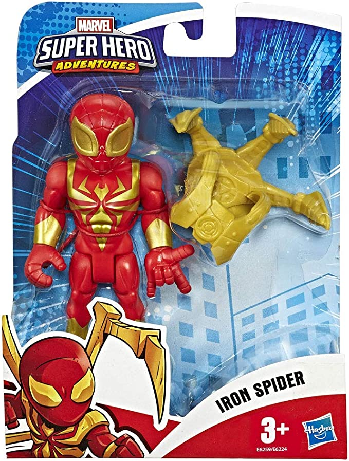 Playskool Marvel Super Eroe AVVENTURE MEGA potente HULK UOMO RAGNO FIGURE