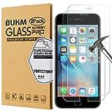 iPhone 6s Schutzfolie, Bukm Gehärtetem Glas [Bubble Free] [Anti-Fingerabdruck] iPhone 6s 4.7 Zoll Panzersglas Hartglas Schutzfolie Displayschutzfolie für iPhone 6s und iPhone 6 (2 Pack)