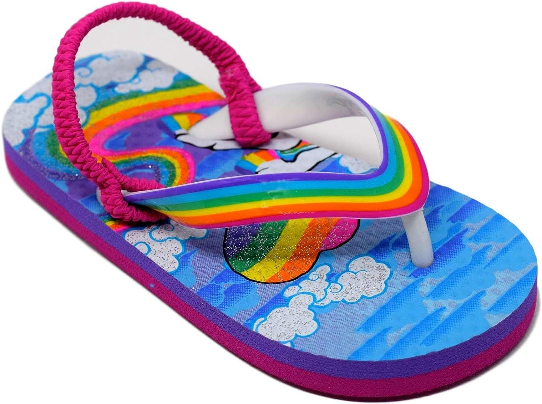 Girl Toddler Flip Flops Size