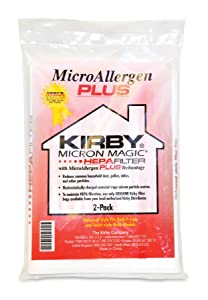 Kirby Microallergen Plus Bag, 205814 (2 pack)