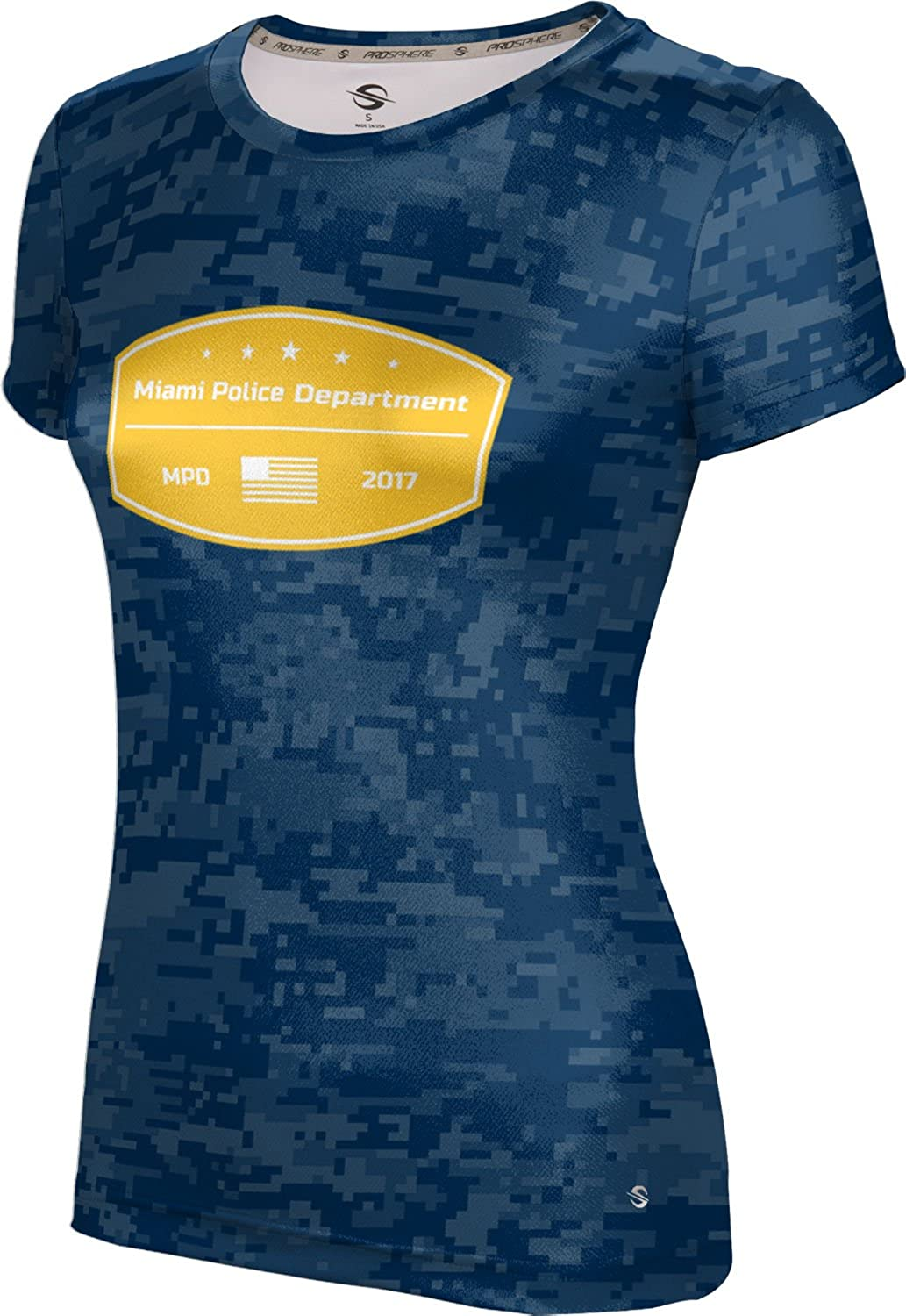 ProSphere Women's Miami Police Department Digital Tech Tee