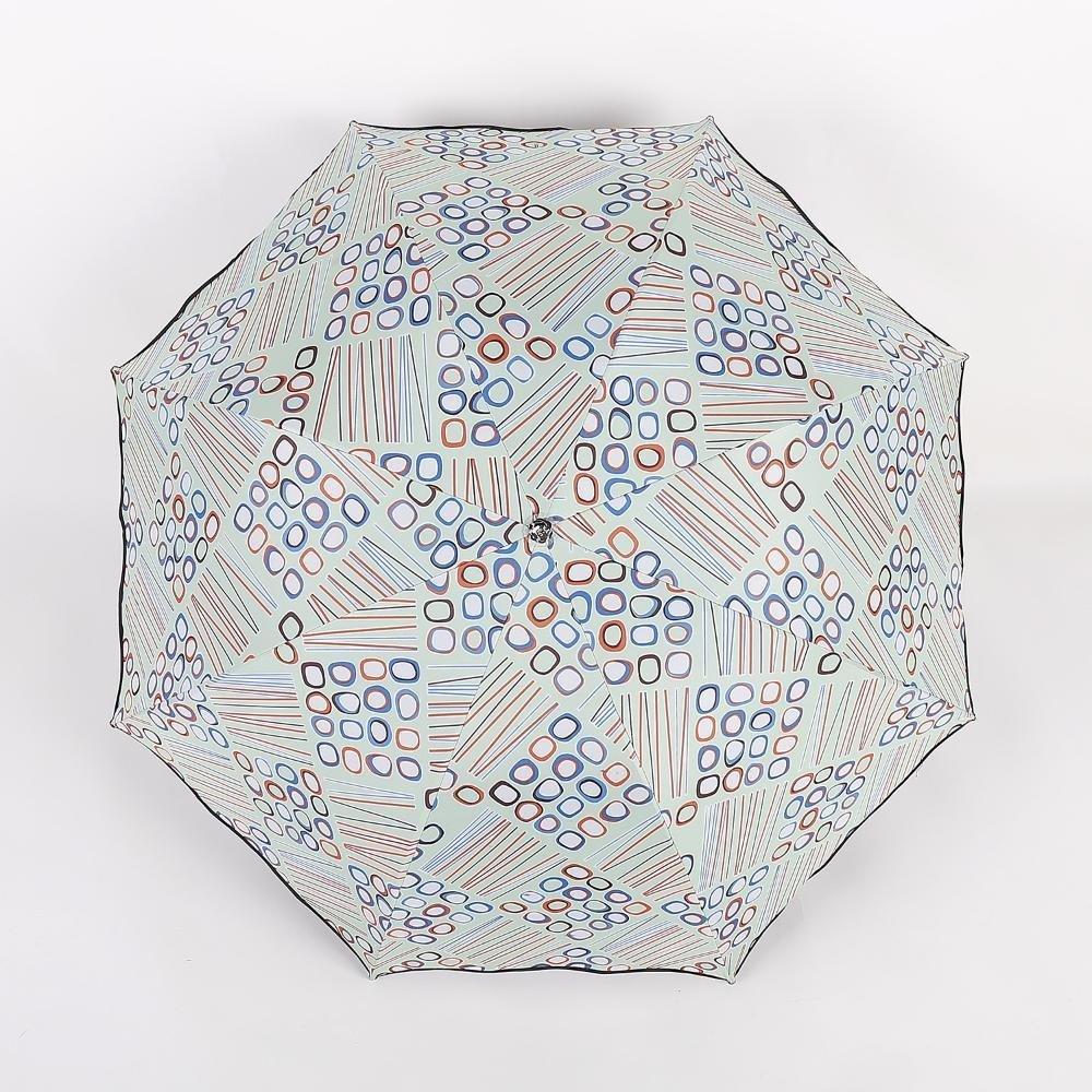BiuTeFang Paraguas Paraguas sombrillas de vinilo figuras geométricas paraguas plegable de protección solar 65x96cm: Amazon.es: Hogar