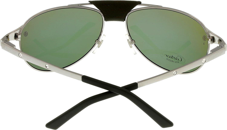 Amazon.com: Cartier anteojos de sol Aviator Polarizadas ...