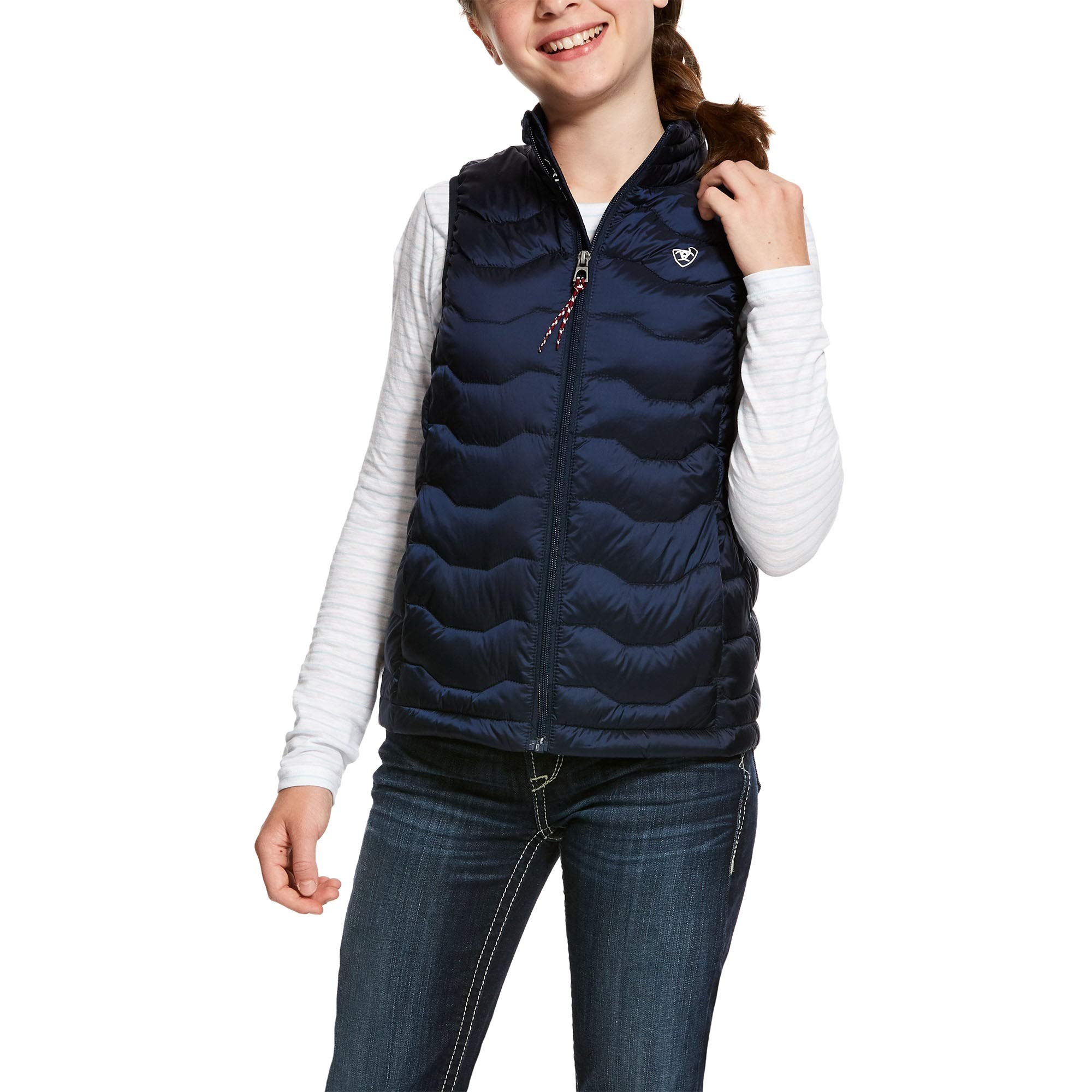 ARIAT Kids' Ideal 3.0 Down Vest - Navy (Small) by ARIAT